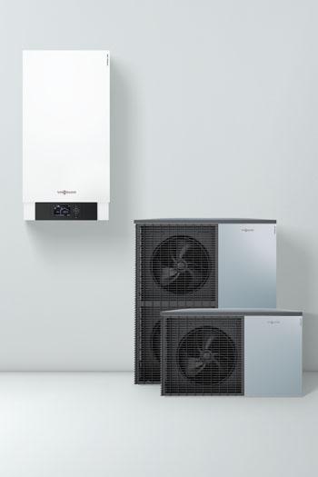 Splitové reverzibilné tepelné čerpadlo Vitocal 200-S